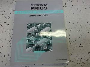 2005 Toyota Prius Electrical Wiring Diagram Service Shop Repair Manual Oem Ewd