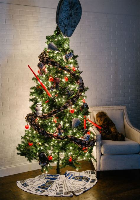 pop culture christmas trees   fun blog
