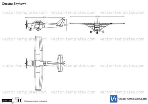 cessna 172 templates templates modern airplanes cessna cessna 172 skyhawk