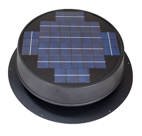 8 inch ventilation fan roof mounted solar attic fan for pitched or flat roofs