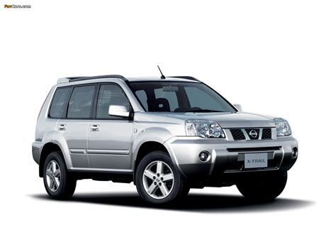 Nissan X Trail Picture by 2004 Nissan X Trail Pictures Information And Specs