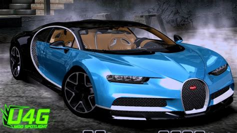 Bugatti Chiron 2017 Need For Speed Most Wanted 2005 Car
