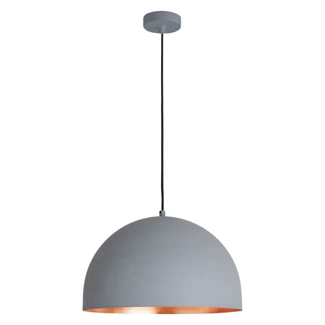 east grey and copper metal ceiling light buy now at