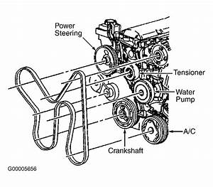 Diagram  2006 Honda Accord V6 Serpentine Belt Diagram