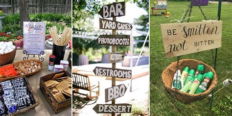 Top 15 BBQ Reception Ideas for Backyard Weddings