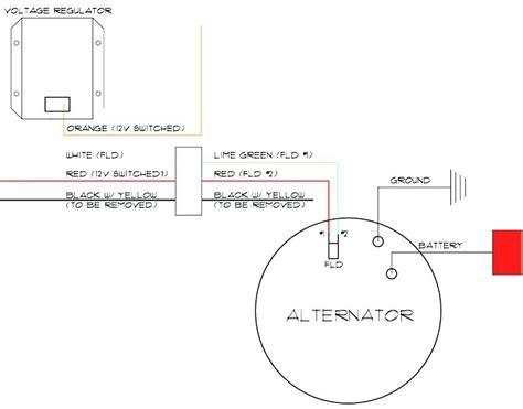 Gm Delco Alternator Wiring Diagram by 35si Delco Remy Alternator Wiring Diagram Free
