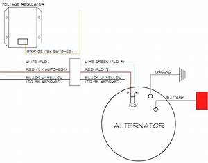 Delco Remy Alternator Wiring Diagram