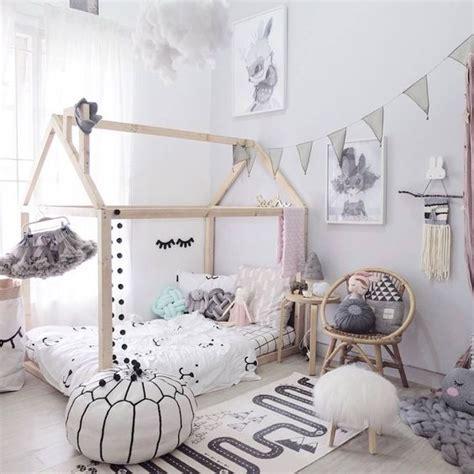 cabane de chambre tendance le lit cabane pour enfant