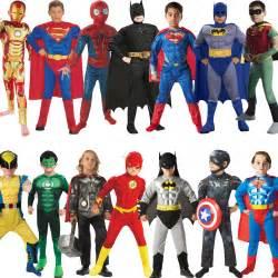 Boy Superhero Dress Up Costumes