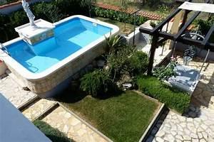vodice dalmatien villa mit swimmingpool und garten With französischer balkon mit swimmingpool garten kaufen