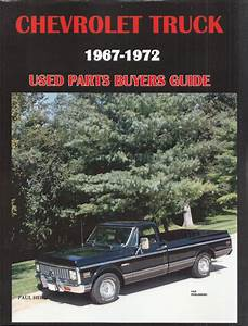 1972 Chevrolet Truck Repair Shop Manual Reprint Chevy