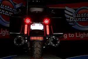 Custom dynamics black rear led marker turn signal lights