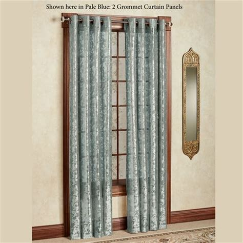 Royal Lace Grommet Curtain Panels