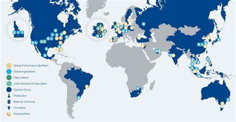 Our global footprint | Glanbia plc