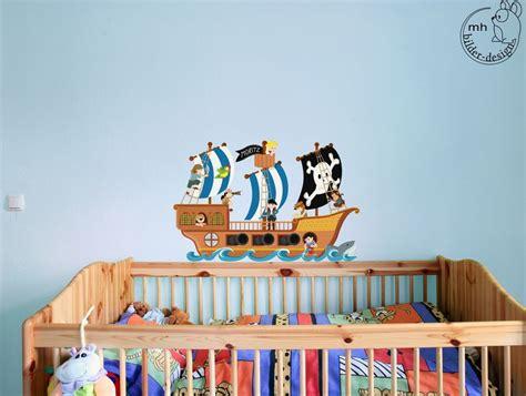 Kinderzimmer Junge Wandtattoo by Wandtattoo Piratenschiff Kinderzimmer Junge Pirat