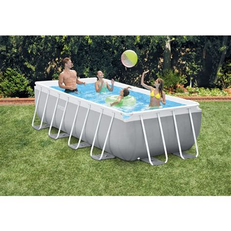 intex prism frame       piscine tubulaire