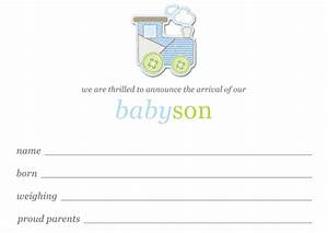 New Years Invitation Templates Free Baby Boy Birth Announcements Template Free Download