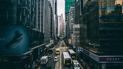4k Wallpapers Desktop Streets Transit Phone Hong