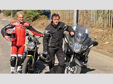 Carl Fogarty and Richard Hammond lead biker rally for