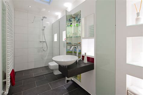 Kleines Bad Houzz by Design Badm 246 Bel Modern Badezimmer Hamburg