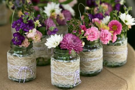 burlap and lace wedding and party ideas one charming day