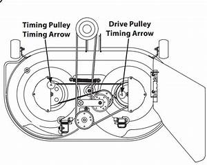 Cub Cadet Lt1045 Drive Belt Diagram