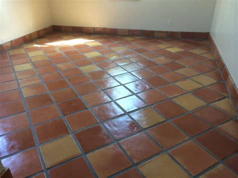 saltillo tile with matching baseboard yelp