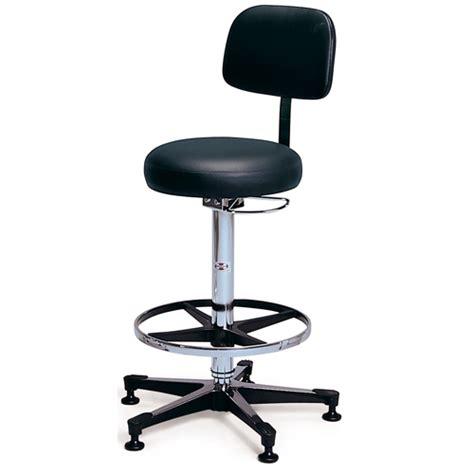 pneumatic stool laboratory stool hausmann 2160