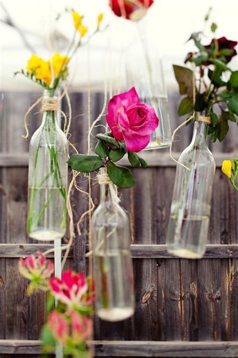 stunning wine bottle centerpieces   thought
