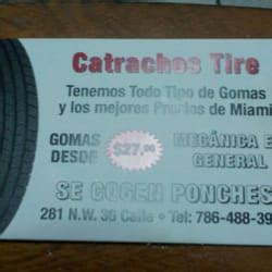 tire phone number catrachos tire tyres 281 nw 36th st wynwood miami
