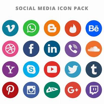 Social Icons Vector Icon Instagram Flat Telegram