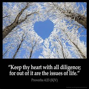 Proverbs 4:23 Inspirational Image