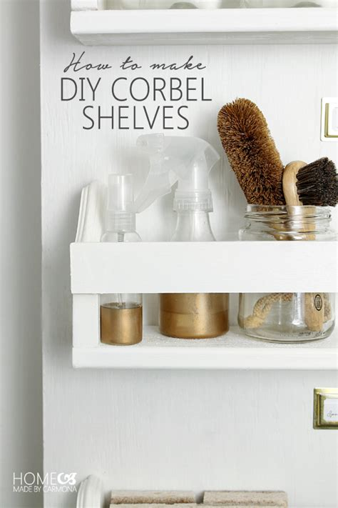 How To Make A Corbel by Diy Corbel Shelves Home Made By Carmona