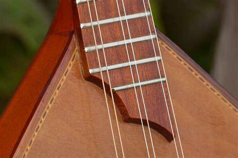 1930s Romanian-made Reghin 6-string Balalaika