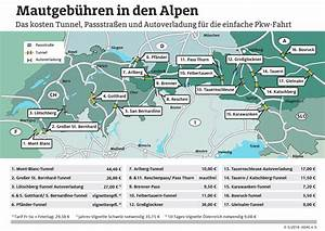 Italien Maut Berechnen : mautgeb hren in den alpen das kosten die wichtigsten tunnel p sse und autoverladestationen ~ Themetempest.com Abrechnung