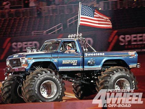 bigfoot 1 monster truck drivelines november 2013 4 wheel off road magazine