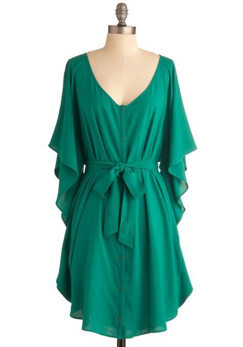 Emerald Green Casual Dress  Clothes Review u2013 Fashion Gossip