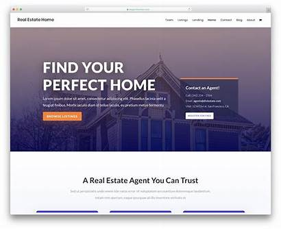 Estate Website Templates Template Web Divi Colorlib