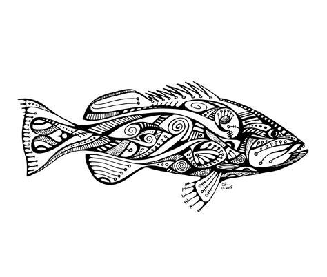 grouper drawing getdrawings