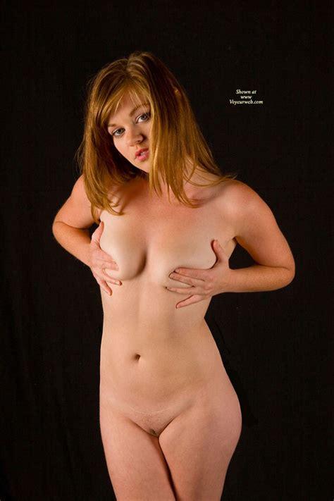 Nude Girl Standing Covering Her Titties December 2010