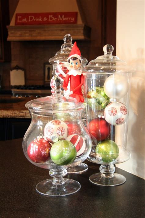 jar decorating ideas for christmas decorating with christmas glass jars adorable home