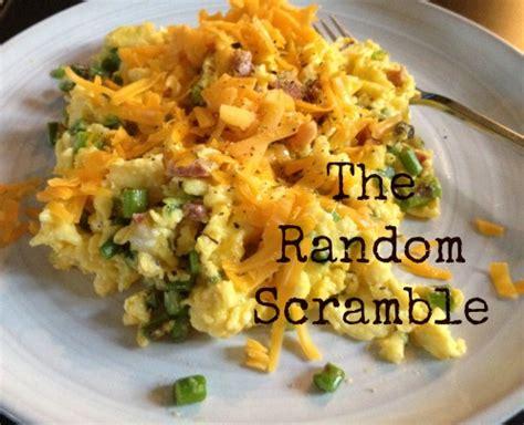 scramble cuisine the random scramble food booze baggage