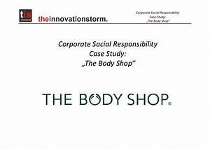 CSR _Case Study_The Body Shop