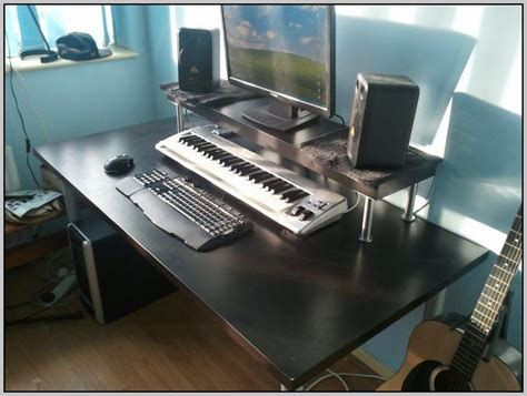 recording studio desk ikea recording studio desk ikea desk home design ideas