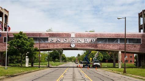 packard plant redevelopment  start construction