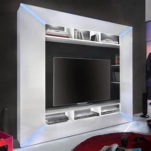 Medienwand Weiss Hochglanz : mediawand race medienwand wei hochglanz inkl rgb beleuchtung wohnwand tv wand ebay ~ Indierocktalk.com Haus und Dekorationen
