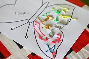 Activité Manuelle Enfant 3 Ans : le printemps mon joli papillon maman bricolage f te des m res fete des meres et activit ~ Melissatoandfro.com Idées de Décoration