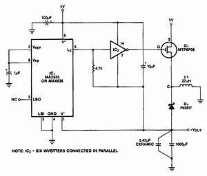Circuit Diagram Of Inverter
