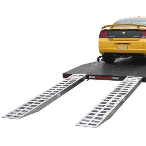 Aluminum Pin-on End Car Trailer Ramps