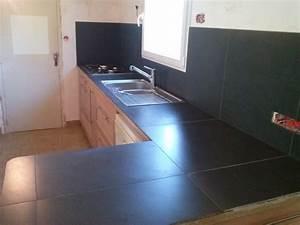 Avec Quoi Recouvrir Un Plan De Travail De Cuisine : carrelage pour plan de travail meuble et d co ~ Melissatoandfro.com Idées de Décoration